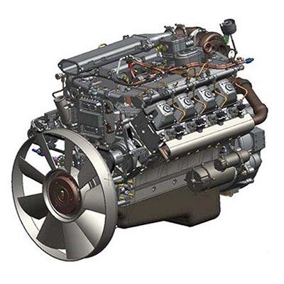 Двигатель КАМАЗ 740.73-1000400